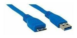 Cable Ativa Micro Usb 30 Color Azul