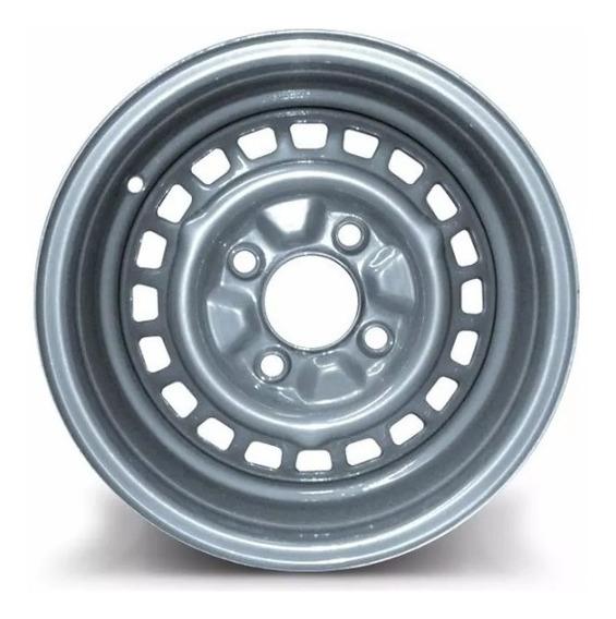 Roda De Ferro Fusca Aro 15 C/ 4x130mm Prata Tala 4,5