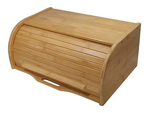 Caja De Madera Grande Para Pan