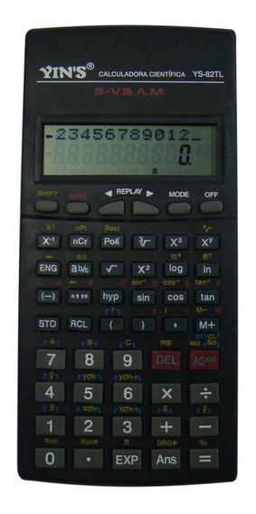 Calculadora Científica 12 Dígitos Com Capa Engenharia Escola