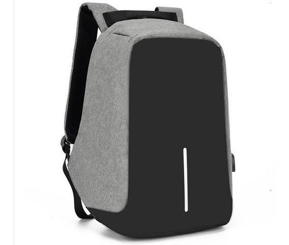 Mochila Antirrobo Carga Usb Notebook Tablet Celular Calidad