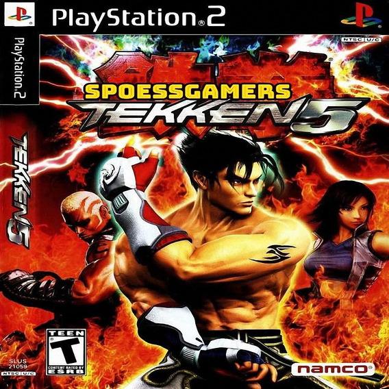 Tekken 5 ( Luta ) Ps2 Desbloqueado Patch