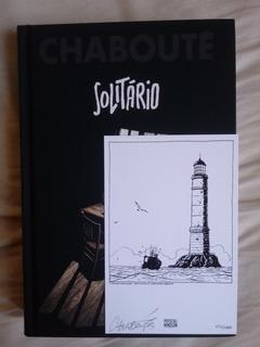Chaboute Hq Solitário Autografado