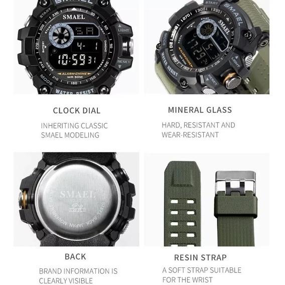 Relógios Smael 8010 À Prova D