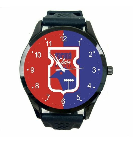 Relógio Paraná Clube Unissex Futebol Esporte Time Jogo T660