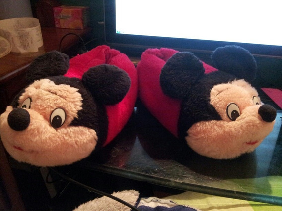 Pantuflas De Mickey Mouse Regalo