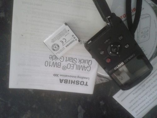 Camcorder Toshiba Sumergible W10