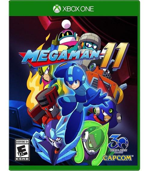 Mega Man 11 Xbox One Mídia Física