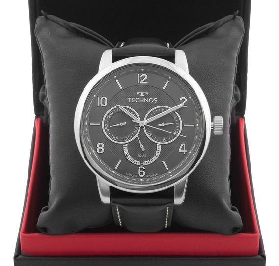 Relógio Masculino Technos Grandtech 6p79bj/0p