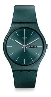 Reloj Swatch Suog709 Analogico Color Verde - Dister Joyas