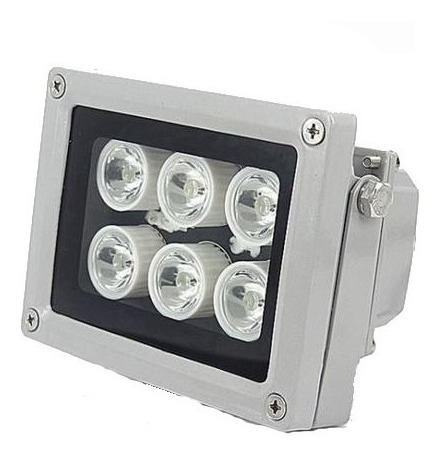 Imagen 1 de 1 de Lámpara 6 Mega Led Con Fotocedula Intemperie