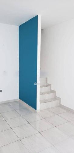 Imagem 1 de 9 de Sobrado Com 2 Dormitórios À Venda, 93 M² Por R$ 300.000,00 - Vila Guarani - Mauá/sp - So0057