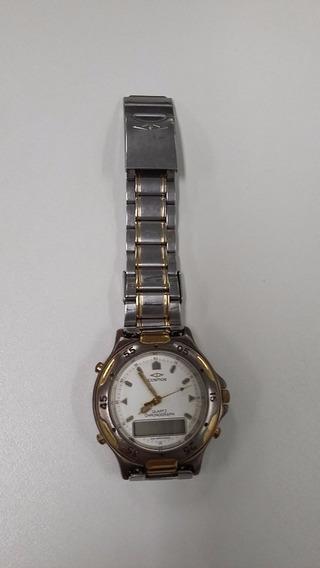 Relógio Cosmos Digital E Analógico Masculino (década De 90)