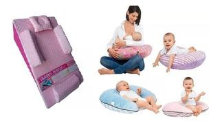 Colchon Antirreflujo + Cojin De Lactancia Para Bebe