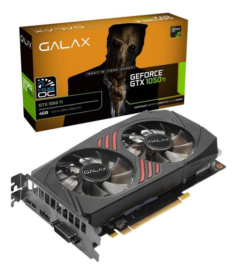 Placa de vídeo Galax GeForce GTX 10 Series 50IQH8DSC7CB 4GB
