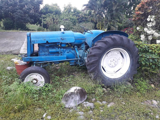 Tractor Ford Ingles Super Mayor