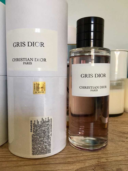 Gris Dior Privee Edp 250ml Usado Com Aprox. 240ml