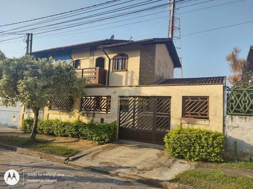 Sobrado Com 3 Dorms, Cibratel I, Itanhaém - R$ 320 Mil, Cod: 1405 - V1405