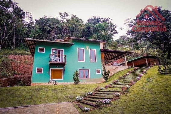 Casa Com 5 Dormitórios À Venda, 200 M² Por R$ 1.200.000,00 - Zona Rural - Guaramiranga/ce - Ca0305