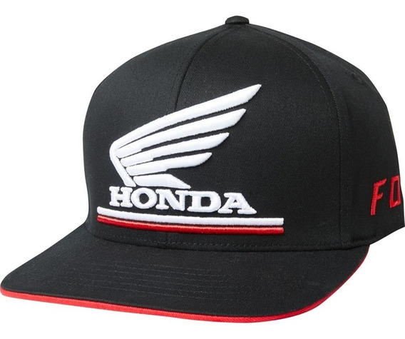 Gorra Fox Honda Flexfit Negro Casual Mtb Bmx All Road