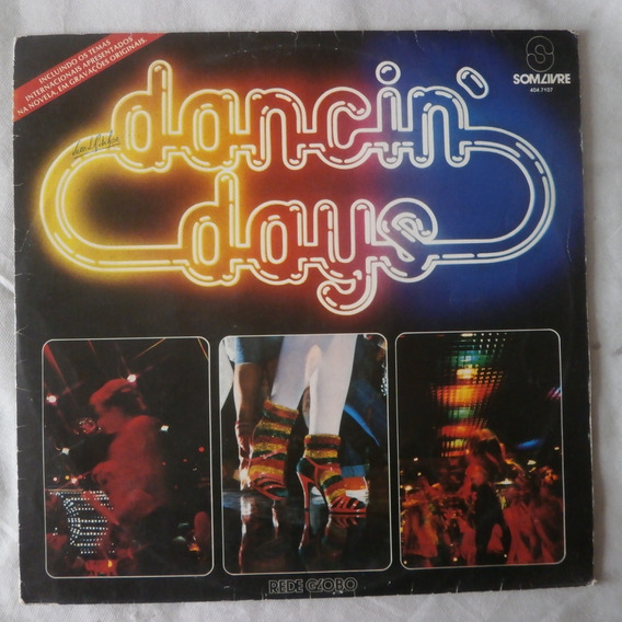 Lp Trilha Novela Dancin` Days 1978 Internacional Disco Vinil