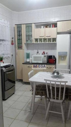 Apartamento Com 2 Dormitórios À Venda, 72 M² Por R$ 260.000 - Jardim Novo Campos Elíseos - Campinas/sp - Ap4859
