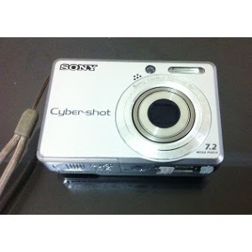 Câmera Sony Dsc S730 Defeito Só No Bloco Óptico