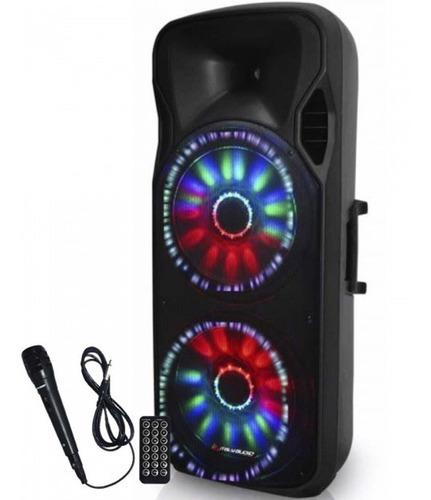 Italy Audio Parlante Amplificador 300w Rms Bluetooth Usb