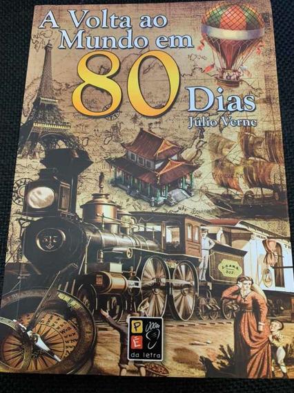Livro A Volta Ao Mundo Em 80 Dias -júlio Verne