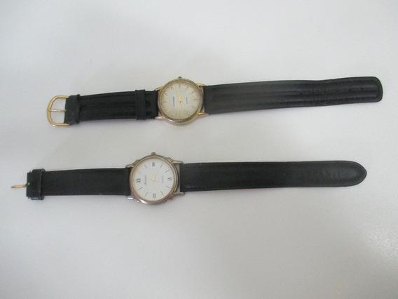 Lote De 2 Relógios De Pulso Mondaine Pzfm Qe059 Quartz. Leia