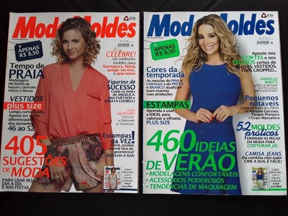2 Revistas Moda Moldes Luiza Valdetaro Danielle Winitts