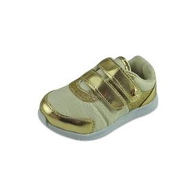 Tênis Baby Glitter - Dourado