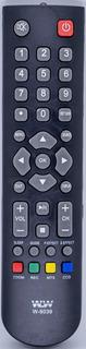 Kit 10 Controle Remoto Tv Philco Ph19m 24m Led 8039