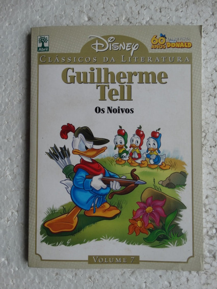 Clássicos Da Literatura Disney Nº 7! Guilherme Tell!