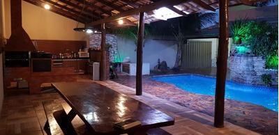 Casa Em Jardim Curitiba, Goiânia/go De 262m² 6 Quartos À Venda Por R$ 439.000,00 - Ca107896