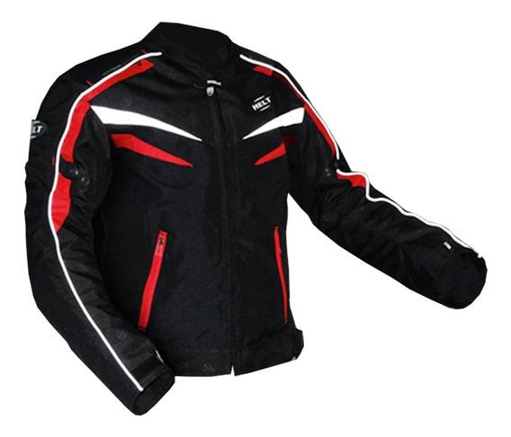Jaqueta Motoqueiro Helt Stroke Impermeável C/ Proteção M