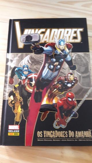 Vingadores Heróis Do Amanhã - Brian Bendis Marvel Deluxe