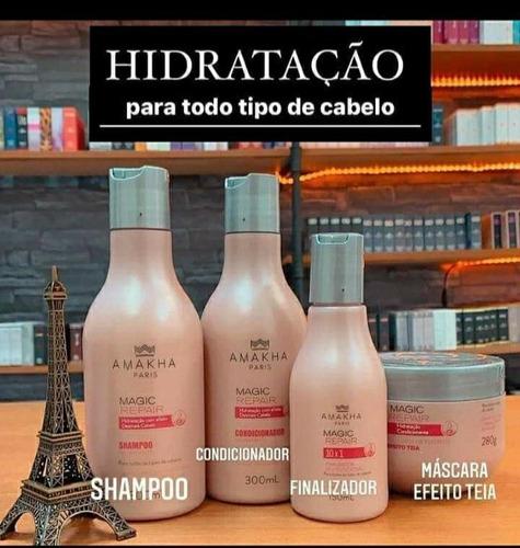 Kit De Hidratação Para Todos Os Tipos De Cabelo.