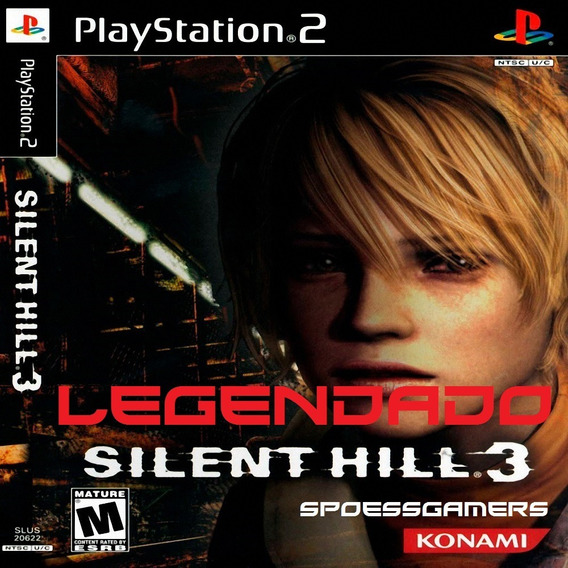 Silent Hill 3 Ps2 Legendado Portugues Ps2 Patch Desbloqueado