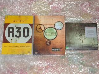 2 Dvds Duplo Rush R30 Anniversary 2112 40th Aniversary Editi