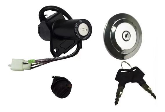 Kit Chave Ignição Ybr Factor 125 2009 A 2013 Pronta Entrega