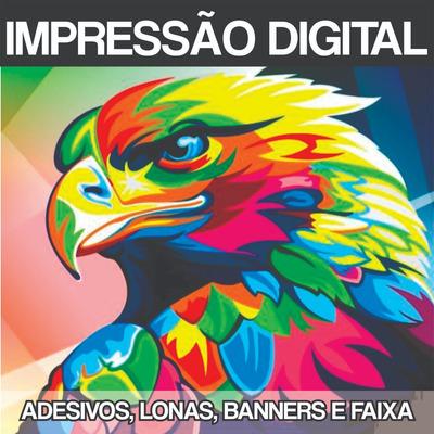 Impressão Digital - Adesivos, Banners, Faixas, Lonas, Etc...