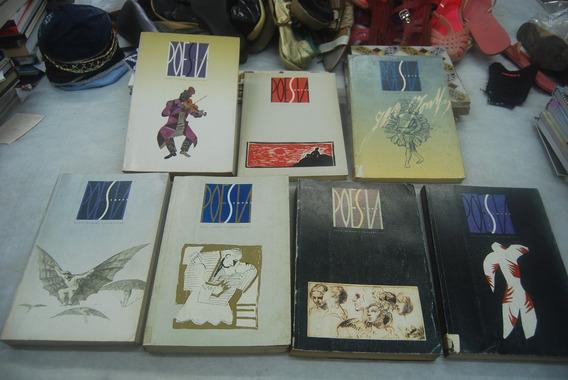 Lote De Revistas Poesia Sempre 2,3,4,5,6,7,8