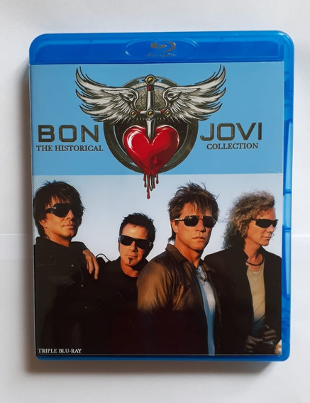 Bluray Triplo Bon Jovi Videografia Legendado - Frete Gratis