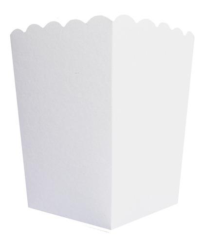Caja Pochoclos 1 Sublimable X 10u Packaging Pochoclera Poc1