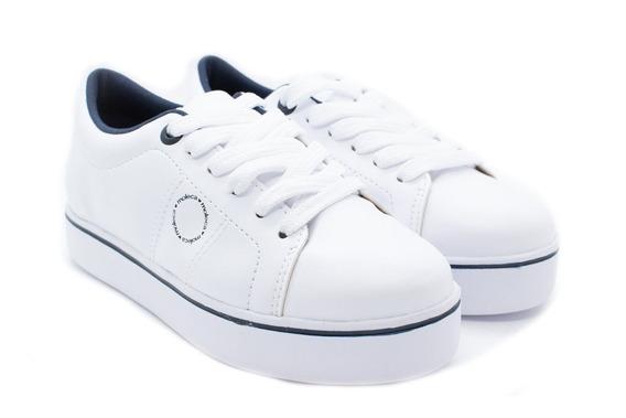 Tênis Moleca 5284.519 Branco/marinho