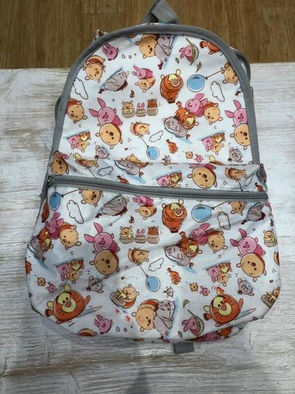 Mochila Disney Store Original Winnie Pooh Como Nueva