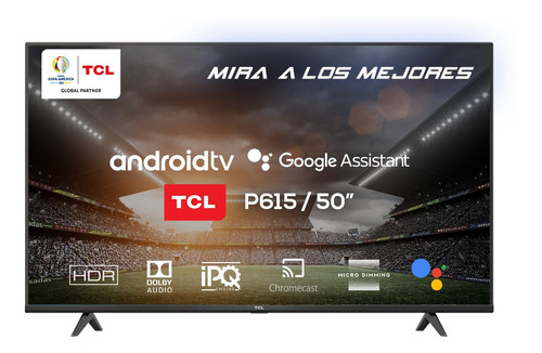 Smart Tv 50 Tcl 50p615 Android 4k Uhd