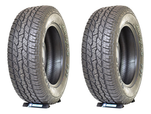 Set De 2 Llantas Maxxis 245/65 R17 At771