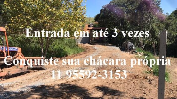 Chegue E Construa Sua Casa De Campo 600 M2 Com Agua E Luz J